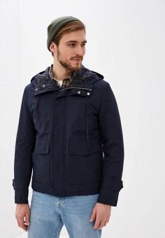 Куртка утепленная, Antony Morato, цвет: синий. Артикул: AN511EMHOIX1. Одежда / Верхняя одежда / Демисезонные куртки
