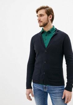 Кардиган, Antony Morato, цвет: синий. Артикул: AN511EMIDAD1. Одежда / Джемперы, свитеры и кардиганы / Кардиганы
