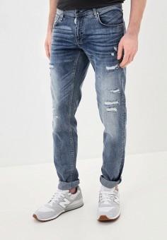 Джинсы, Antony Morato, цвет: синий. Артикул: AN511EMJCNE1. Одежда / Джинсы / Прямые джинсы