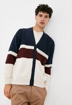 Кардиган, Antony Morato, цвет: мультиколор. Артикул: AN511EMJOVR8. Одежда / Джемперы, свитеры и кардиганы / Кардиганы