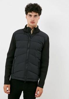Куртка утепленная, Antony Morato, цвет: черный. Артикул: AN511EMKEAQ7. Одежда / Верхняя одежда / Демисезонные куртки