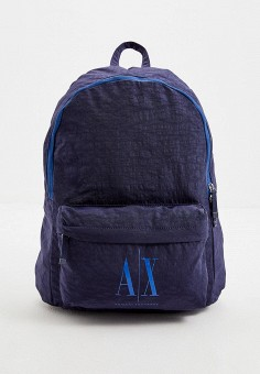 Рюкзак, Armani Exchange, цвет: синий. Артикул: AR037BMHOIK2. Аксессуары / Рюкзаки