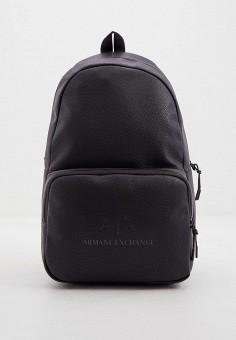 Рюкзак, Armani Exchange, цвет: черный. Артикул: AR037BMHOIK4. Аксессуары / Рюкзаки