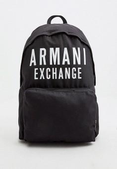 Рюкзак, Armani Exchange, цвет: черный. Артикул: AR037BMHOIK5. Аксессуары / Рюкзаки