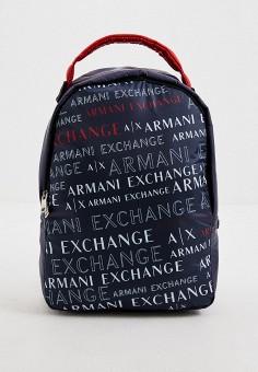 Рюкзак, Armani Exchange, цвет: синий. Артикул: AR037BMHOIK8. Аксессуары / Рюкзаки
