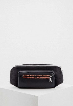 Сумка поясная, Armani Exchange, цвет: черный. Артикул: AR037BMHOIL1.