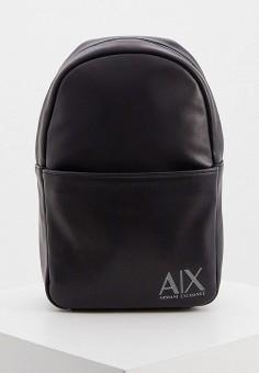 Сумка, Armani Exchange, цвет: черный. Артикул: AR037BMHOIL7.