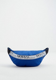 Сумка поясная, Armani Exchange, цвет: синий. Артикул: AR037BMJUNU3.
