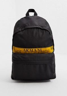 Рюкзак, Armani Exchange, цвет: черный. Артикул: AR037BMKIUM2. Аксессуары / Рюкзаки