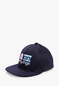 Бейсболка, Armani Exchange, цвет: синий. Артикул: AR037CWHOIJ8.