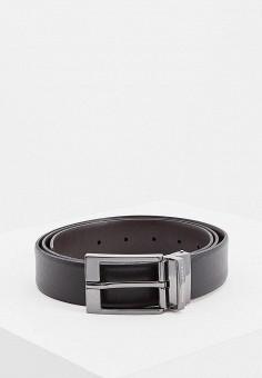 Ремень, Armani Exchange, цвет: черный. Артикул: AR037DMBKSD1.
