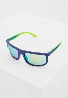 Очки солнцезащитные, Armani Exchange, цвет: синий. Артикул: AR037DMEMGV8.