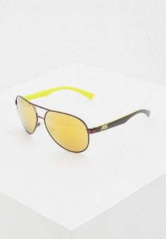 Очки солнцезащитные, Armani Exchange, цвет: коричневый. Артикул: AR037DMHFTP9.