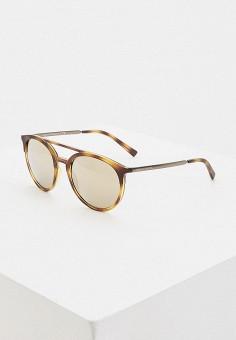 Очки солнцезащитные, Armani Exchange, цвет: коричневый. Артикул: AR037DMHFTQ5.