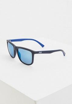 Очки солнцезащитные, Armani Exchange, цвет: синий. Артикул: AR037DMHFTR4.