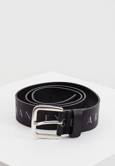 Ремень, Armani Exchange, цвет: черный. Артикул: AR037DMHOIM6.