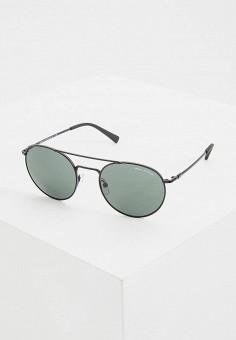 Очки солнцезащитные, Armani Exchange, цвет: черный. Артикул: AR037DUEMGV4.