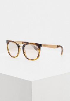 Очки солнцезащитные, Armani Exchange, цвет: коричневый. Артикул: AR037DWHFTO6.