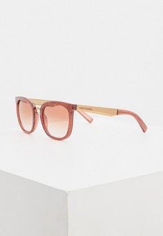 Очки солнцезащитные, Armani Exchange, цвет: коралловый. Артикул: AR037DWHFTP4.