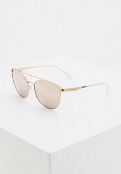 Очки солнцезащитные, Armani Exchange, цвет: золотой. Артикул: AR037DWITVX0.