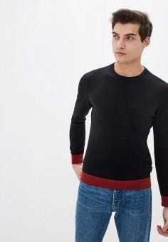 Джемпер, Armani Exchange, цвет: черный. Артикул: AR037EMHOOT2. Одежда / Джемперы, свитеры и кардиганы / Джемперы и пуловеры