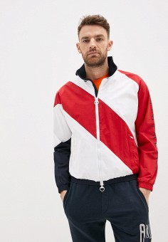 Олимпийка, Armani Exchange, цвет: красный. Артикул: AR037EMHOTJ7.