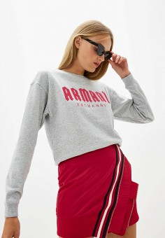 Свитшот, Armani Exchange, цвет: серый. Артикул: AR037EWFXUO4. Armani Exchange