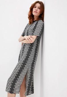 Платье, Armani Exchange, цвет: мультиколор. Артикул: AR037EWJUOM7.