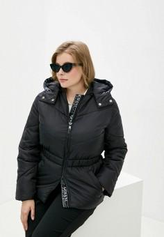 Куртка утепленная, Armani Exchange, цвет: черный. Артикул: AR037EWJUON0. Одежда / Верхняя одежда / Демисезонные куртки