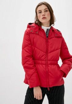 Куртка утепленная, Armani Exchange, цвет: красный. Артикул: AR037EWJUON1.
