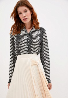 Блуза, Armani Exchange, цвет: черный. Артикул: AR037EWJUON2.