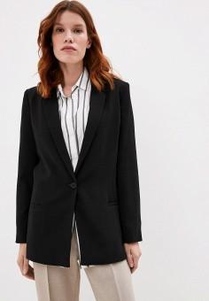 Пиджак, Armani Exchange, цвет: черный. Артикул: AR037EWJUON3.