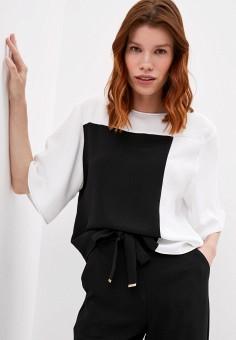 Блуза, Armani Exchange, цвет: белый. Артикул: AR037EWJUOP2.