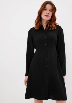 Платье, Armani Exchange, цвет: черный. Артикул: AR037EWJUOP8.