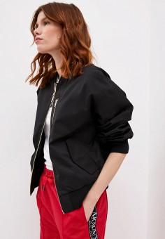 Куртка, Armani Exchange, цвет: черный. Артикул: AR037EWJUOQ4.