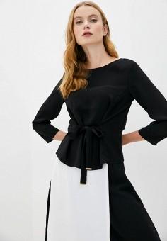 Блуза, Armani Exchange, цвет: черный. Артикул: AR037EWJUOQ8.