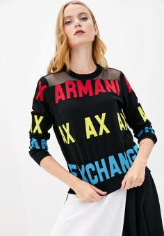 Джемпер, Armani Exchange, цвет: мультиколор. Артикул: AR037EWJUOW0.