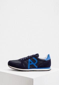 Кроссовки, Armani Jeans, цвет: синий. Артикул: AR411AMJBDW3.