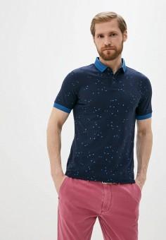 Поло, Armani Jeans, цвет: синий. Артикул: AR411EMJBOI7.