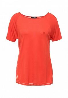 Блуза, Armani Jeans, цвет: оранжевый. Артикул: AR411EWHDB52.