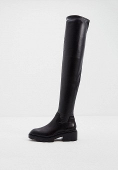 Ботфорты, Ash, цвет: черный. Артикул: AS069AWJTQH7. Обувь / Сапоги