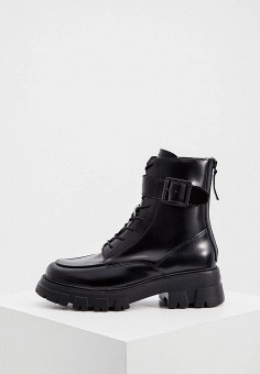 Ботинки, Ash, цвет: черный. Артикул: AS069AWJTQH8. Обувь / Ботильоны