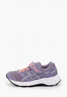 Кроссовки, ASICS, цвет: фиолетовый. Артикул: AS455ABIZKR3.