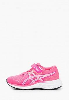 Кроссовки, ASICS, цвет: розовый. Артикул: AS455AGHVDP9. Девочкам / Спорт