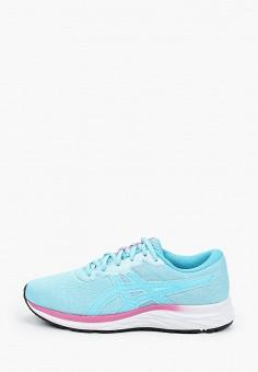 Кроссовки, ASICS, цвет: голубой. Артикул: AS455AGKAVW7.