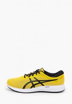 Кроссовки, ASICS, цвет: желтый. Артикул: AS455AMHVAI1.