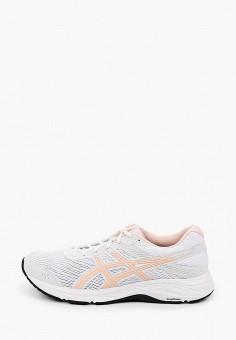 Кроссовки, ASICS, цвет: белый. Артикул: AS455AWHVAL5.