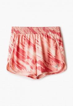 Шорты спортивные, ASICS, цвет: розовый. Артикул: AS455EGHVDO5.