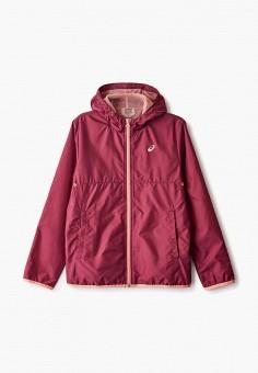 Ветровка, ASICS, цвет: бордовый. Артикул: AS455EKHVIF0. Мальчикам / Одежда / Верхняя одежда