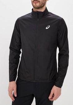 Куртка, ASICS, цвет: черный. Артикул: AS455EMDRHD0. Одежда / Верхняя одежда / Легкие куртки и ветровки